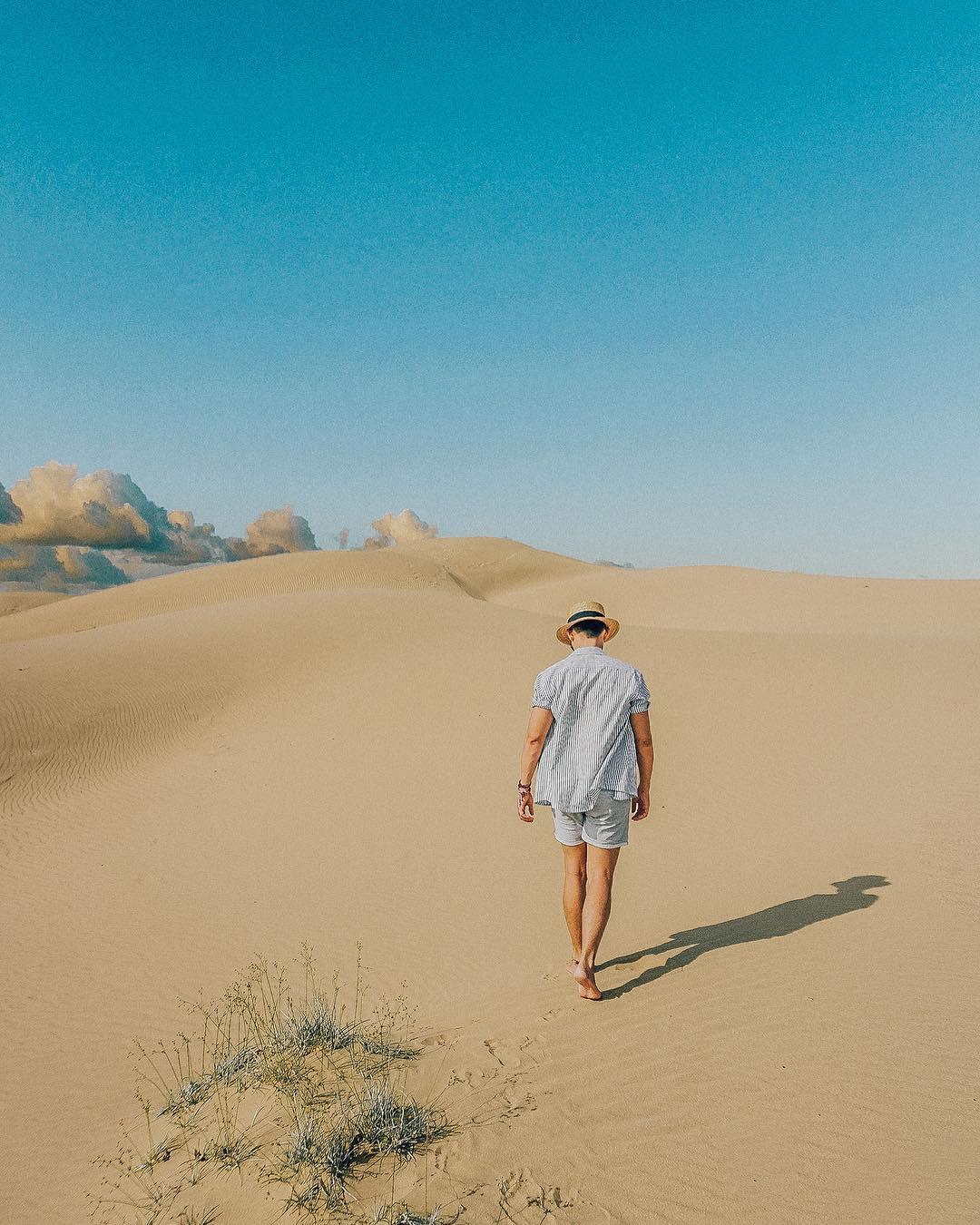 """Đồi cát Nam Cương - """"Tiểu sa mạc Sahara"""" giữa vùng chảo lửa Ninh Thuận"""