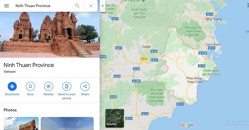 Ninh thuận giáp tỉnh nào? Vị trí địa lý nằm ở đâu Việt Nam?