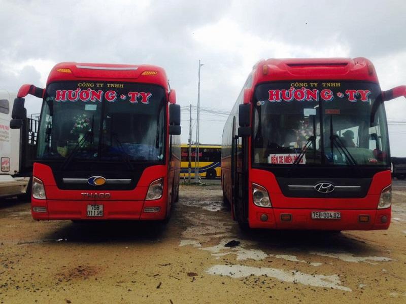 Nhà xe Hương Ty: xe giường nằm Huế đi Phan Rang Ninh Thuận
