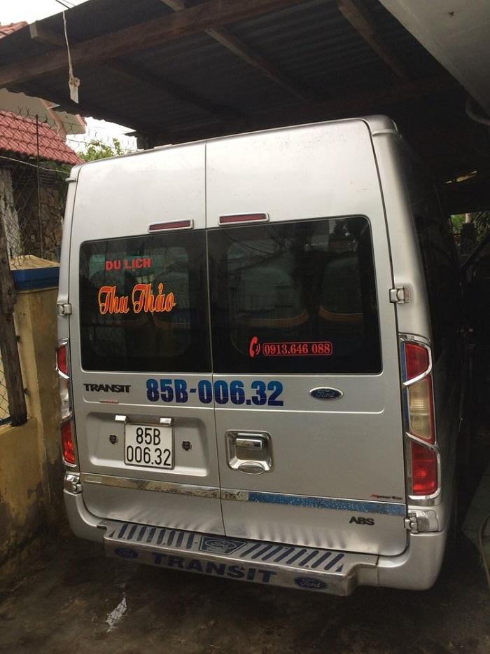 Nhà xe Thu Thảo: xe 16 chỗ chất lượng cao Đà Lạt đi Ninh Thuận