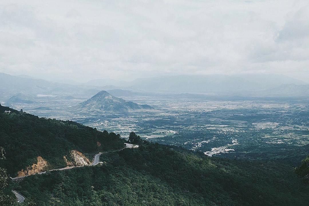 Đèo Ngoạn Mục (đèo Sông Pha) Ninh Thuận đi Đà Lạt: Kinh nghiệm đi xe máy