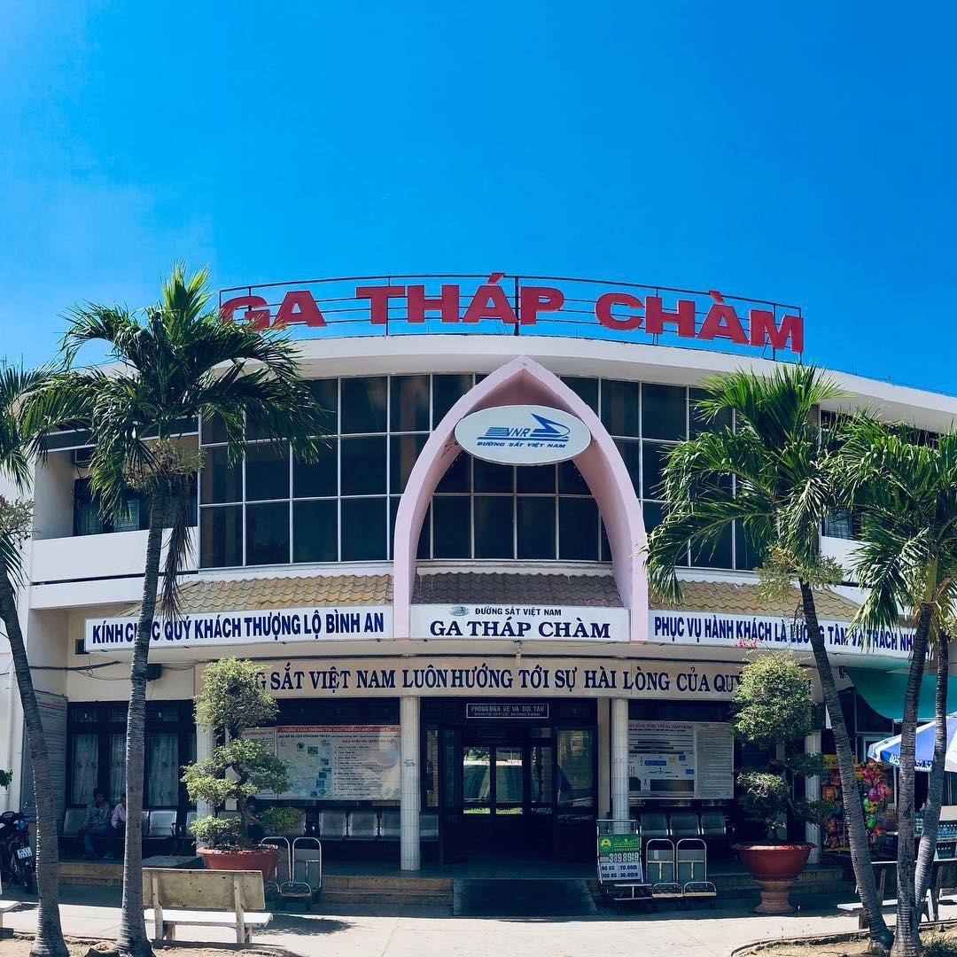Ga Ninh Thuận Phan Rang - Ga Tháp Chàm: review chi tiết A-Z