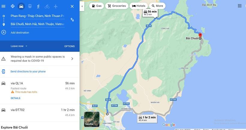 Bãi Chuối Ninh Thuận: Hướng dẫn đường đi, kinh nghiệm tham quan A-Z