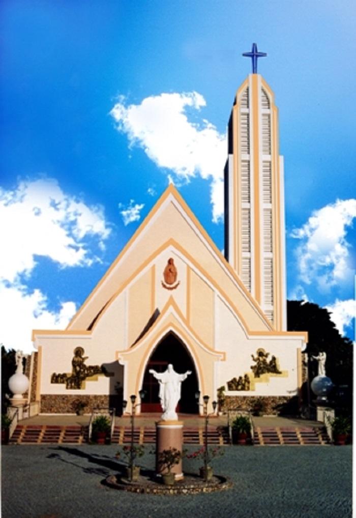 Top 5 Nhà thờ Phan Rang Ninh Thuận đẹp nổi tiếng ở trung tâm