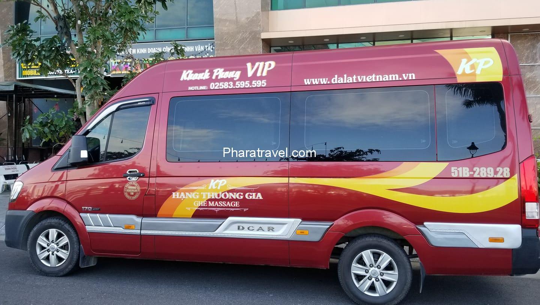 Xe limousine đi Đà Lạt chất lượng - lịch trình, giá vé, điện thoại liên hệ