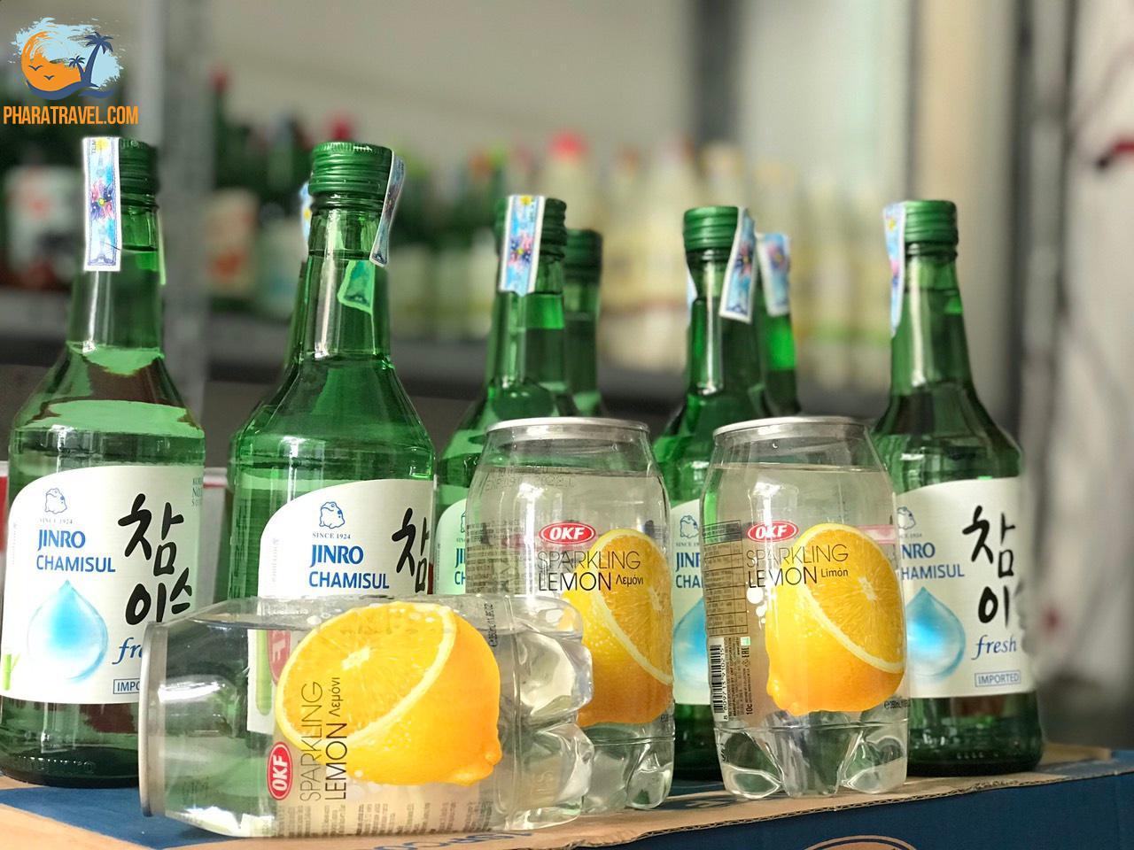 Rượu soju Phan Rang giá bao nhiêu? Rượu soju hàn quốc có những loại nào?