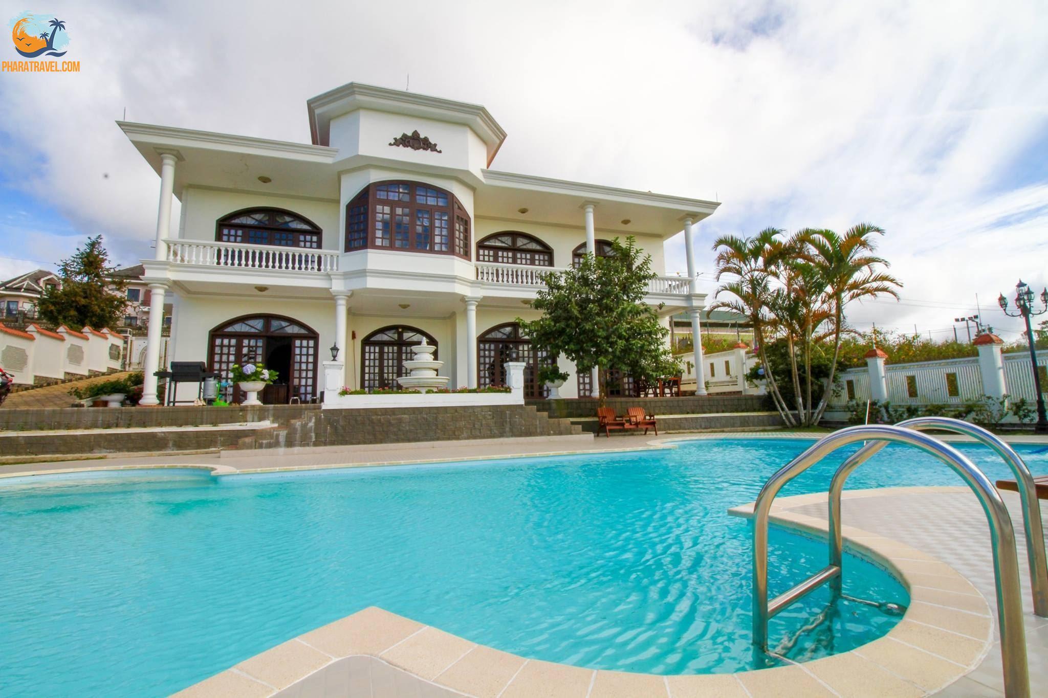 Top 10 Biệt thự villa Đà Lạt giá rẻ view đẹp cho thuê du lịch ngắn ngày