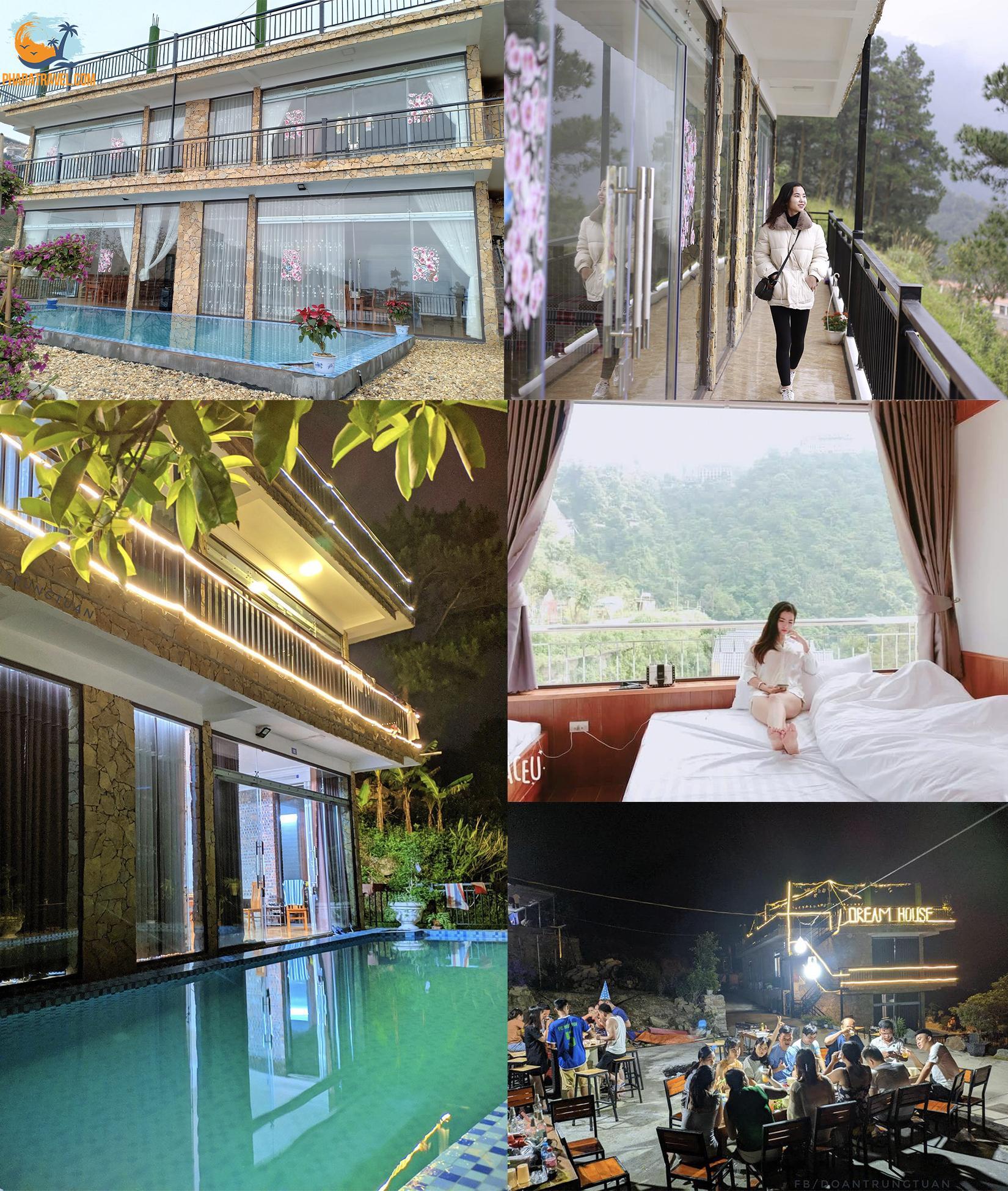 Top 21 homestay Tam Đảo Vĩnh Phúc giá rẻ view săn mây có hồ bơi đẹp nhất